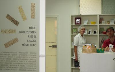 Neuer Werksverkauf der göttinger müsli company