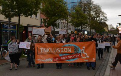 Aktionstag Mensch – Sternmarsch für barrierefreie Mobilität im Landkreis Göttingen
