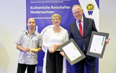 göttinger müsli company erhält Auszeichnung Kulinarischer Botschafter Niedersachsen 2019 für Müsli und Riegel